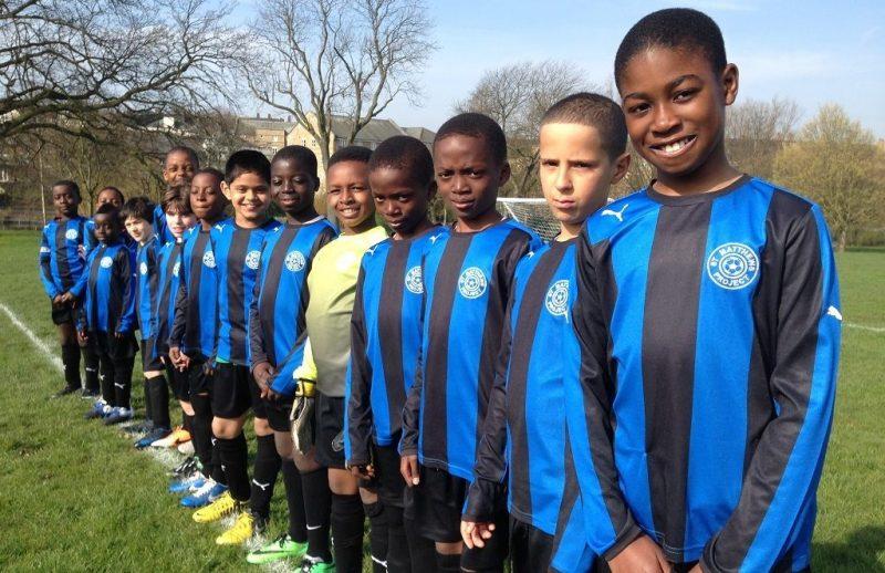 The St. Matthew's FC team